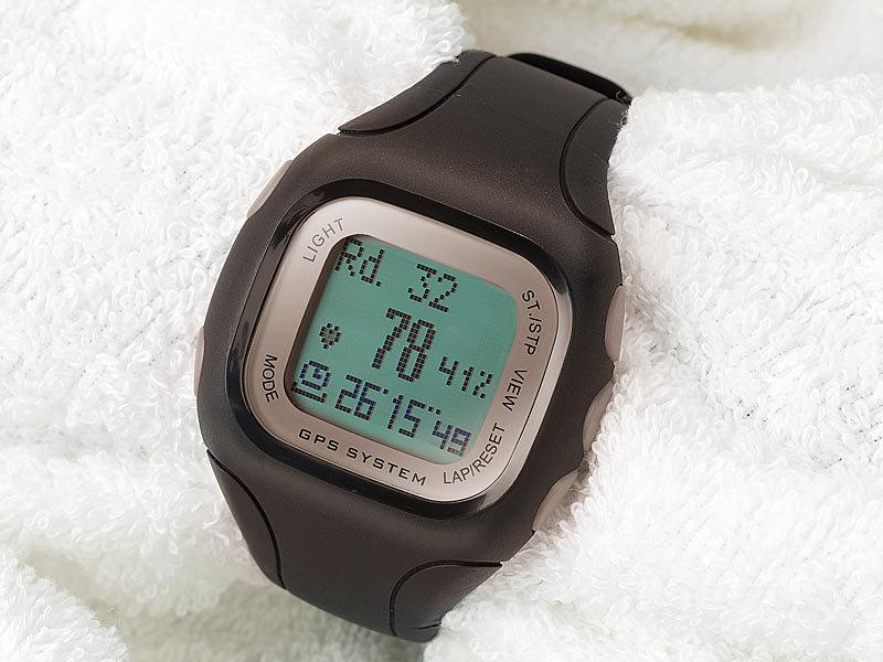 navgear gps fitnessuhr gw 145 mit kompass positionfinder. Black Bedroom Furniture Sets. Home Design Ideas