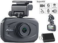 NavGear Super-HD-Dashcam MDV-3300.SHD, G-Sensor, Weitwinkel, GPS; Dashcams mit G-Sensor (Full HD) Dashcams mit G-Sensor (Full HD) Dashcams mit G-Sensor (Full HD) Dashcams mit G-Sensor (Full HD) Dashcams mit G-Sensor (Full HD)