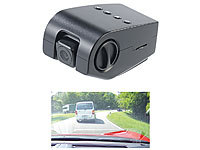NavGear Versteckte Full-HD-Windschutzscheiben-Dashcam MDV-4300.mini; Dashcams mit G-Sensor (HD) Dashcams mit G-Sensor (HD) Dashcams mit G-Sensor (HD)