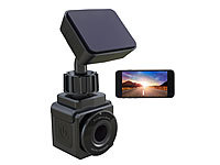 NavGear WiFi-Mini-Dashcam, Full HD 1080p, G-Sensor, GPS, 155°-Weitwinkel, App; Dashcams mit G-Sensor (HD) Dashcams mit G-Sensor (HD) Dashcams mit G-Sensor (HD)