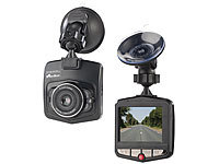 "NavGear VGA-Dashcam mit Bewegungserkennung und 6,1-cm-Farb-Display (2,4""); Dashcams mit G-Sensor (HD) Dashcams mit G-Sensor (HD) Dashcams mit G-Sensor (HD) Dashcams mit G-Sensor (HD)"