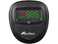"NavGear 2in1 Head-Up-Display: GPS-Tacho & BT GPS-Receiver ""HUD90-BT"""