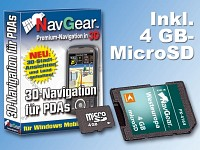 NavGear Navisoftware für Simvalley XP-45/65 West-Europa, 4GB microSD