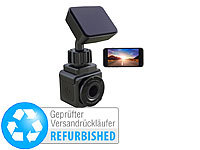 NavGear WiFi-Mini-Dashcam, Full HD 1080p, G-Sensor, GPS (Versandrückläufer)
